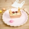 8 Assiettes Festonnées Pastel Assortis et Or images:#3
