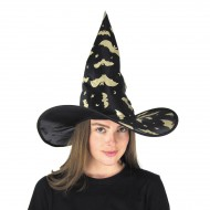 Chapeau Sorcière Doré