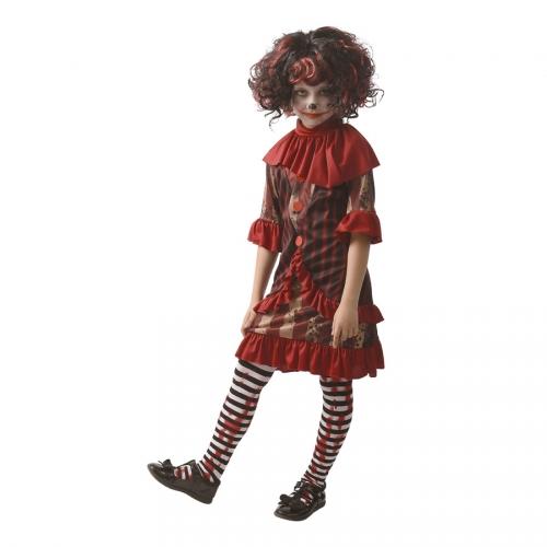 Déguisement Petite Clownette Tueuse