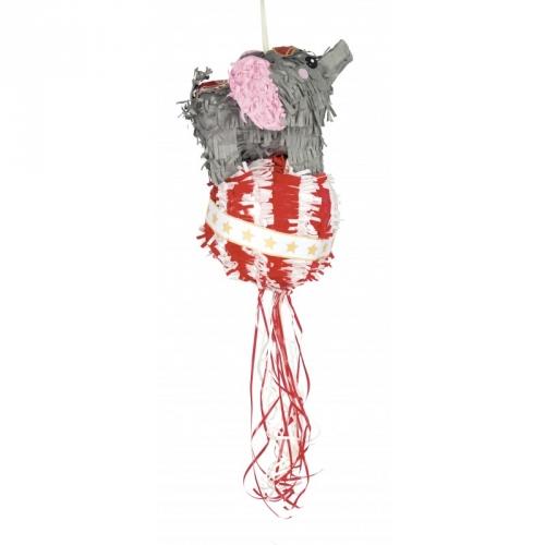 Pull Pinata Vintage Circus - Eléphant