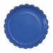 Contient : 1 x 8 Assiettes Festonnées Bleu et Or. n°2