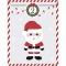 25 Sachets Papier et stickers - Calendrier de L'Avent images:#0