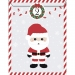 25 Sachets Papier et stickers - Calendrier de L Avent. n°1