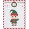 25 Sachets Papier et stickers - Calendrier de L'Avent images:#1