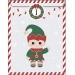 25 Sachets Papier et stickers - Calendrier de L Avent. n°2