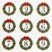 25 Sachets Papier et stickers - Calendrier de L Avent. n°6