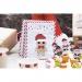 25 Sachets Papier et stickers - Calendrier de L Avent. n°8