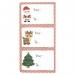 12 Etiquettes Adhésives - Noël. n°2