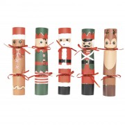 5 Crackers Figurines de Noël