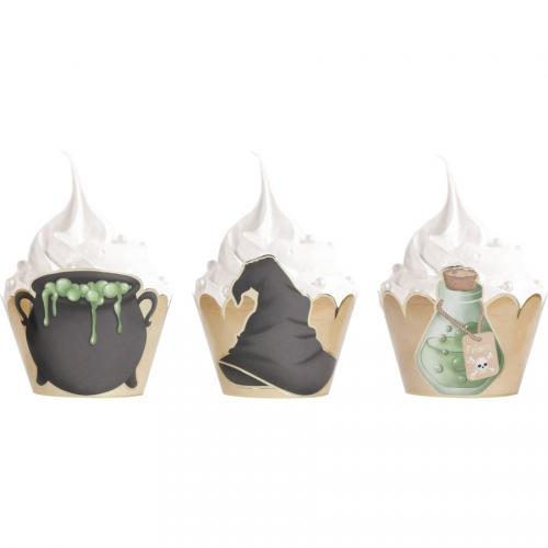 6 Caissettes Cupcakes - Apprenti Sorcier
