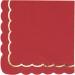 Boîte à Fête Festonnées Rouge et Or. n°3