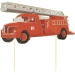6 Cake Toppers - Pompiers. n°3