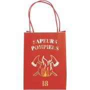4 Sacs Cadeaux - Pompiers