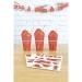 2 Planches de 25 Stickers - Pompiers. n°2