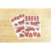 2 Planches de 25 Stickers - Pompiers. n°6