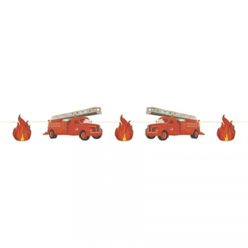 Guirlande Pompiers - 3m