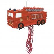 Pull Pinata Camion de Pompier