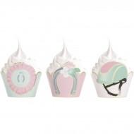 6 Caissettes Cupcakes - Cheval d'Amour