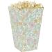 8 Boîtes à Popcorn Shabby et Or. n°2