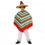 Déguisement de musicien Mexicain 5-6 ans