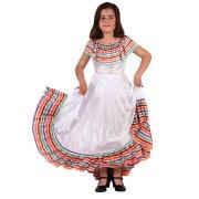 Déguisement de Danseuse Mexicaine 7-9 ans