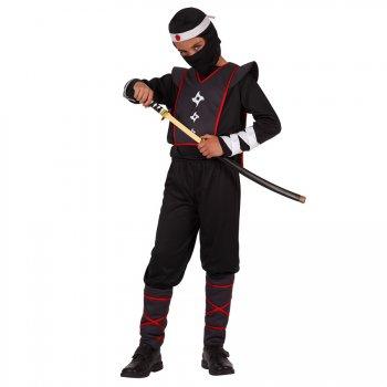 Déguisement de Guerrier Ninja Noir
