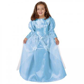 Déguisement de Princesse aux Papillons Bleus