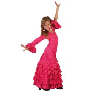 D�guisement de Danseuse Flamenco Rose