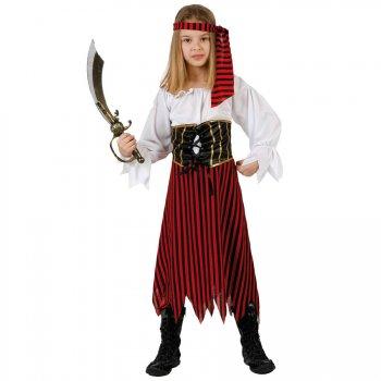 Déguisement de Pirate Boucanier Fille