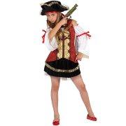 D�guisement de Miss Pirate Velours