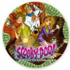 5 Petites assiettes Scooby Doo