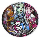 5 Petites assiettes Monster High 2