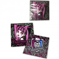 10 Serviettes Monster High 2