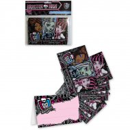 4 Invitations Monster High 2