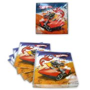 10 Serviettes Hot Wheels