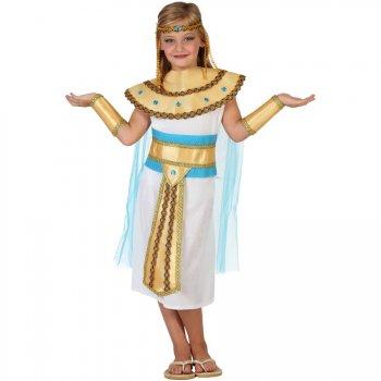 Déguisement de Reine Egyptienne Velours Enfant