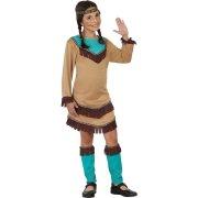 Déguisement d'Indienne  Apache Bleu