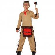 Déguisement d'Indien Apache Rouge
