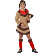 D�guisement d'Indienne Apache Rouge