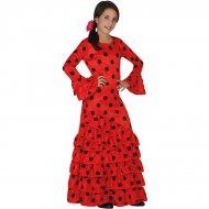 D�guisement Flamenco Rouge et Noir