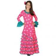 Déguisement Flamenco Rose et Bleu