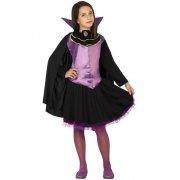 Déguisement de Vampiresse Violet Taille 7-9 ans
