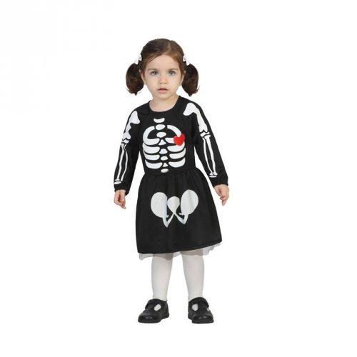 Déguisement Baby Squelette Fille