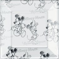 8 Assiettes Mickey et Minnie
