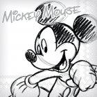 20 Serviettes Mickey et Minnie