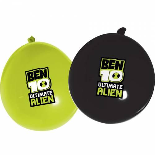 12 Ballons Ben Ten Ultimate Alien
