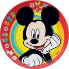 Assiette Mickey en mélamine