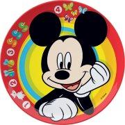 Assiette Mickey en m�lamine
