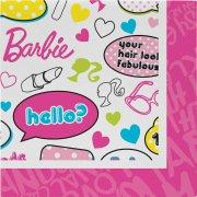 20 Serviettes Barbie