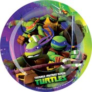 8 Petites assiettes Tortue Ninja 2